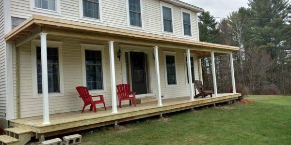 Farmers porch in auburn bonafide builders llc for Farmers porch